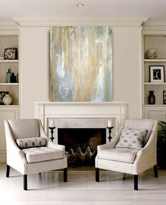 Large+Original+Abstract+Acrylic+Painting+Fine+by+OraBirenbaumArt,+$325.00