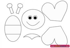 Best 11 9 Remarkable Foam Craft Ideas For Adults And Kids – SkillOfKing. Bug Crafts, Foam Crafts, Preschool Crafts, Easter Crafts, Bee Template, Bee Art, Bee Theme, Felt Patterns, Printable Crafts