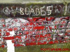 Sheffield United football graffiti