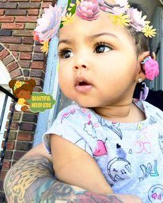 "10k Likes, 65 Comments - Beautiful Mixed Kids (@beautifulmixedkids) on Instagram: ""Kemoni - 9 Months • Puerto Rican, Black, Haitian, Irish & Iranian ♥️ FOLLOW @BEAUTIFULMIXEDKIDS…"""