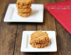 Almond Butter Coconut Cookies (Low Carb and Paleo)