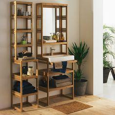 1000 id es sur le th me salle de bain en bambou sur for Etagere salle de bain bambou