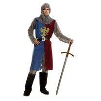 disfraz caballero medieval M/L edgar