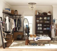 Love this room turned into a closet
