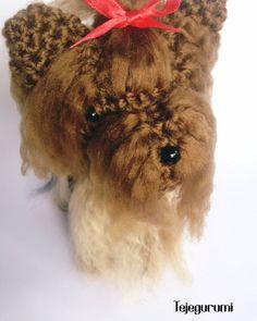 #york #yorkie #yorkshire #dog #puppy #puppylove #perro #amigurumi #amigurumis #tejegurumi #ganchillo #crochet #crochetdoll #crocheting#instacrochet #crochê #tejido #craft  #handmade #handcraft #hobby #doll #игрушкикрючком #амигуруми #häkeln  #كروشيه #rajutan #yarn #diy #hechoenvenezuela by tejegurumi