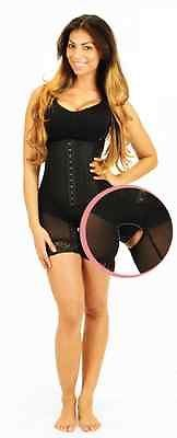 The NEW Ardyss Body Magic Light. More comfortable, removeable flap for easy bathroom access, and shapes buttocks better. Available in sizes 30-40. Black Sexy Girdle Shapewear Body Shaper