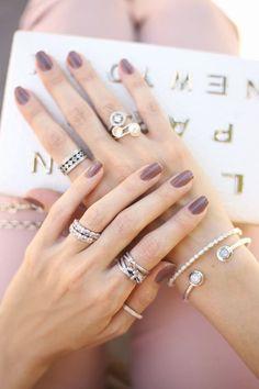 Pandora jewelry. mix of rings.