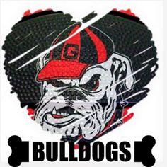 T shirt ideas Football Baby, Football Team, College Football, Bulldog Wallpaper, Georgia Bulldogs Football, Bulldog Mascot, Georgia Girls, My Marine, Eastern Star
