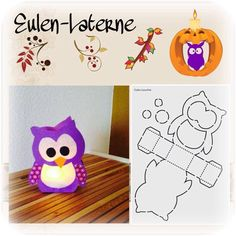 Eulen Laterne                                                                                                                                                                                 More
