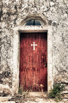 Chios, Nea Moni Abandoned Church by MattScape Photography, via Flickr