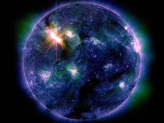 A Terra está sendo castigada por uma forte tempestade solar. Há riscos à saúde?