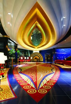 Dubai Burj Al Arab Lobby Tour photos Photos: Dubai Burj Al Arab Tourism Travel Place