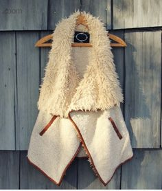 Arctic sherpa vest from spool 72