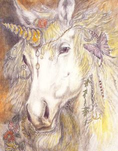 Love unicorns---so mystical...