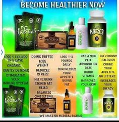 Just a few benefits from our amazing products!