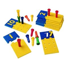 Number puzzles game -- made from rubber so it resists wear!