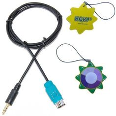 HQRP Alpine Convertor Lead for MP3 / PORTABLE DVD PLAYERS / GAME CONSOLES / LAPTOP COMPUTERS plus HQRP UV Tester by HQRP. $7.95. HQRP Alpine KCE-237B Cable will allow you to connect any portable MP3 player, mobile phone or similar device which has a 3.5mm Jack Plug input to any Alpine Ai-NET connection Head Unit. The cable terminates in a standard 3.5mm mini jack connector for hooking up an MP3 player, Dock & Play satellite radio, or another source. for ALL Alpine FullSpeed he...