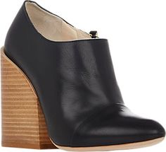 Chloé Cap-Toe Booties - Ankle Boots - Barneys.com