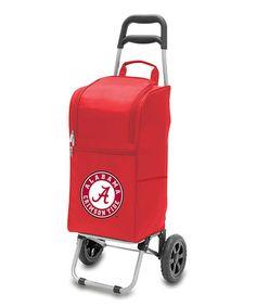 Look what I found on #zulily! Alabama Crimson Tide Red Cart Cooler #zulilyfinds