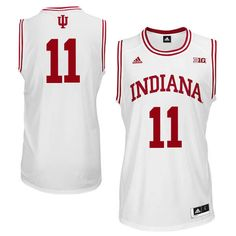 233897ac3 Men Indiana Hoosiers  11 Yogi Ferrell College Basketball Jerseys Sale-White  Basketball Uniforms