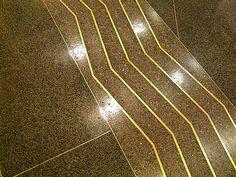 Art Déco - Chanin Building - 56 étages - Intérieurs - Carrelage de Sol