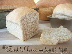 Best Homemade Wheat Bread Recipe