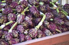 Chocolate artichoke. #wedding #flowers