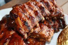 recette Travers de porc à l'américaine