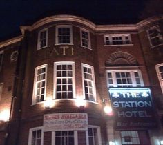 The Station Hotel, Dudley - opened to the public in 1898. One of the hotel's darker stories is that of a former manager who led a servant girl to the cellar. She turned down his advances and when she threatened to tell his wife he brutally killed her and hid her body in a barrel. Poltergeist activity has been reported in room 214 that manifests itself as a dark shadow over the bed. In 2003 a television show visited and one of their cameras caught a bed and chair moving on their own.