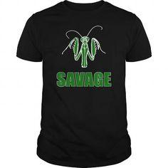 Cool  Savage Praying Mantis Shirts & Tees