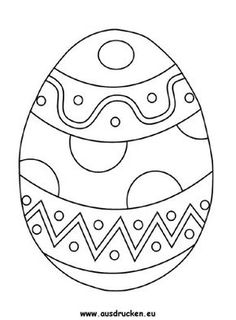Page painting easter eggs - Ostern - Easter Egg Dye, Easter Art, Easter Crafts For Kids, Easter Egg Coloring Pages, Fingerprint Crafts, Art Quilling, Easter Egg Designs, Easter Printables, Easter Activities