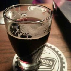 Muerto Viviente from Big Boss Brewing Company in Raleigh, NC. Had this on draft at the Raleigh Times in October 2014. Belgian strong dark ale aged in tequila barrels. Personal rating 8/10