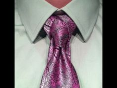 CAPE KNOT video - I am very fond of this knot, it never ceases to get compliments. Especially from the ladies. They love a man who knows how to tie a knot. This knot works best with mono-colored ties, works fine with pattern or paisley ties, but I would not recommend it with stripes. It has the same issue the Eldredge does, the orientation of the stripes gets all zany and it creates pattern shock.