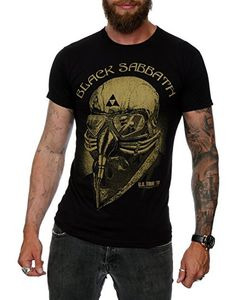 Black Sabbath Hombres Negro Sabbath Tour 78 Camiseta Small Negro: Amazon.es: Ropa y accesorios