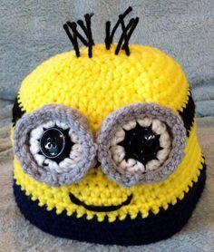 Child's Minion Hat - via @Craftsy
