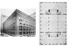 Marshall Field Wholesale Store (1885-1887) - H. H. Richardson