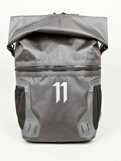 A couple of sturdy backpacks from 11 by Boris Bidjan Saberi, The Mountain X Backpack and more streamlined Velocity Pack with fabric from Ortlieb. Unique Backpacks, Outdoor Backpacks, Girl Backpacks, Buy Luggage, Luggage Bags, Ear Cuffs, Postman Bag, Fossil, Bicycle Bag