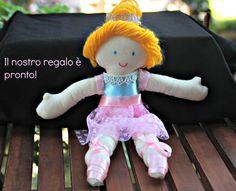 bambola fatta a amno