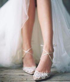Lace Bridal Flat ShoeLace Bridal by HopefullyRomantic on Etsy  Wedding  Pinterest