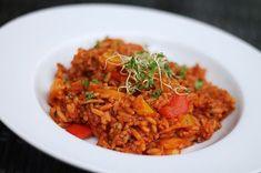Reis-Hackfleisch-Pfanne mit Paprika, ein raffiniertes Rezept aus der Kategorie Kochen. Bewertungen: 93. Durchschnitt: Ø 4,5.