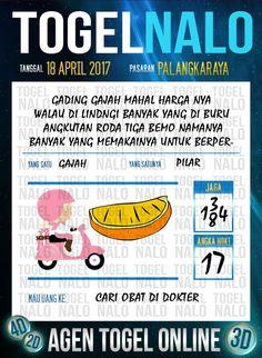 Angka Mimpi 6D Togel Wap Online TogelNalo Palangkaraya 18 April 2017