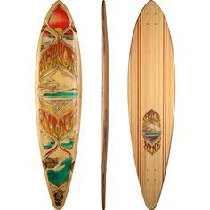 Sector 9 Peru Longboard Skateboard Deck w/ Grip