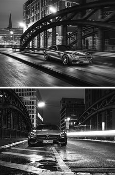 Rush hour: The Mercedes-AMG GT S. Photos by Felix Berndt. [Mercedes-AMG GT S | combined fuel consumption 9.6-9.4 l/100km | combined CO2 emission 224-219 g/km | http://mb4.me/efficiency_statement]