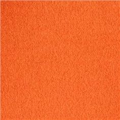 Comfy Double Napped Flannel Pumpkin $4.49 | 1 yd, scarf back