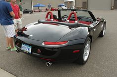 Nice BMW Z8, not a fan of BMW's generally but really like these, out of my price range of course...
