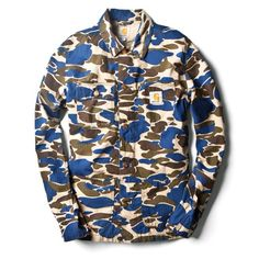 cf11e6898d3 Carhartt WIP Spring Summer 2014 Outerwear Collection. Now available on…  Camouflage Patterns