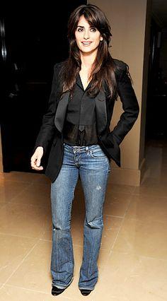 Penelope Cruz loves a Bootcut Jean!