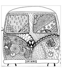 Download The Printable Volkswagen Beetle Colouring Page For Free