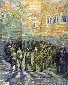 Vincent van Gogh. Prisoners Exercising (after Gustave Dore), 1890