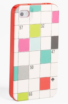kate spade new york 'crossword puzzle' iPhone 5 case (Nordstrom Exclusive) | Nordstrom